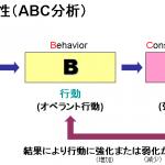 三項随伴性とは(ABC分析)|学習理論